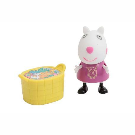 Peppa Pig Φιγούρα με αξεσουάρ καλαθάκι-0