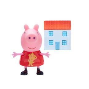 Peppa Pig Φιγούρα με αξεσουάρ σπιτάκι