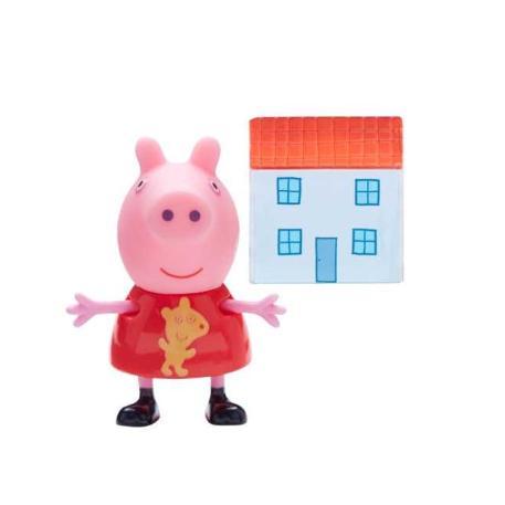 Peppa Pig Φιγούρα με αξεσουάρ σπιτάκι-0