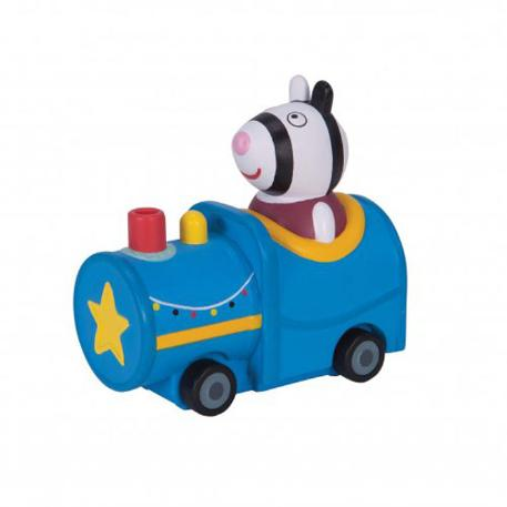 Peppa Pig Μίνι Οχηματάκια μπλε (PPC24001)-0