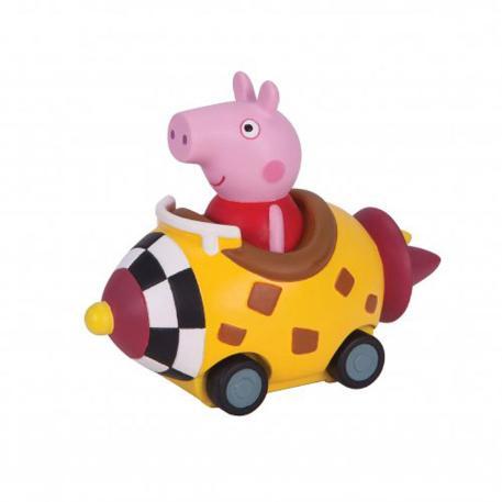 Peppa Pig Μίνι Οχηματάκια κίτρινο (PPC24001)-0