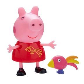 Peppa Pig Φιλαράκια και Ζωάκια - Peppa & παπαγάλος (PPC44000)