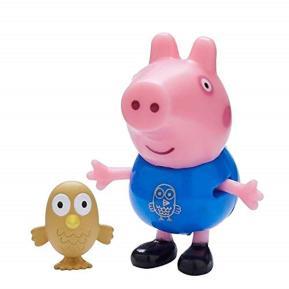 Peppa Pig Φιλαράκια και Ζωάκια - George & κουκουβάγια (PPC44000)