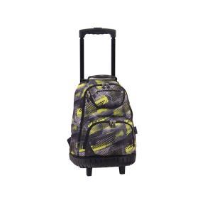 Τσάντα Trolley Πλάτης Wheels Green Carbon 121075