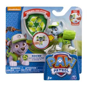 Paw Patrol Κουταβάκι σε Δράση Jungle Rocky