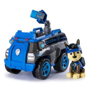 Paw Patrol Κουταβάκι Με Όχημα Chase's Mission Police Cruiser (PWP68000)