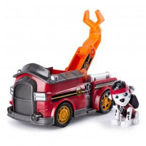 Paw Patrol Κουταβάκι Με Όχημα Marshall's Mission Fire Truck (PWP68000)