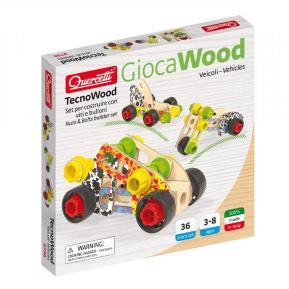 Quercetti - Play Wood Tecno Vehicles Basic (0730)