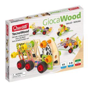 Quercetti - Play Wood Tecno Vehicles Premium (0731)