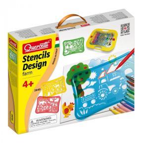 Quercetti - Stencil Design (Φάρμα) 2645