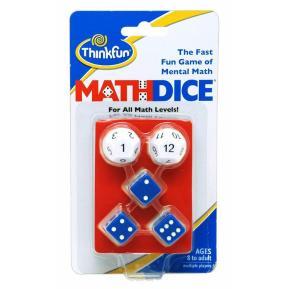 ThinkFun Παιχνίδι Λογικής Γρίφος Math Dice (001510)