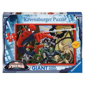 Ravensburger Παζλ Δαπέδου Spiderman Η Μάχη 24τμχ
