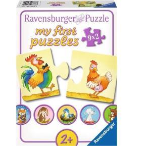 Ravensburger Παζλ 9x2 τμχ Πολλές Αντιφάσεις