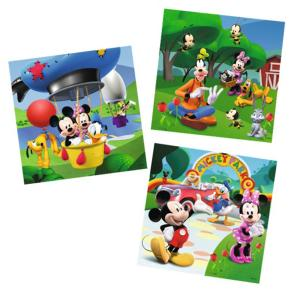 Ravensburger Πάζλ  Mickey Mouse Clubhouse 3 σε 1