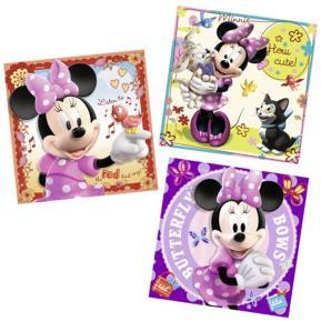 Ravensburger Πάζλ  Minie Mouse 3 σε 1