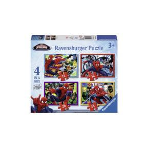 Ravensburger Παζλ Spiderman 4 σε 1