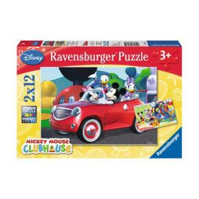 Ravensburger Παζλ 2x12 τμχ Mickey - Minnie και Φίλοι