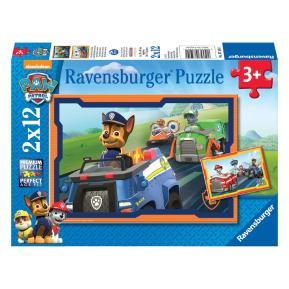 Ravensburger Παζλ  2x12 τμχ. Paw Patrol σε Δράση 07591