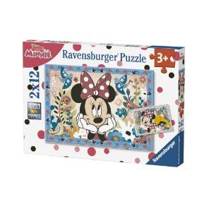 Ravensburger Παζλ 2x12 τμχ Minnie Mouse