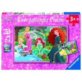 Ravensburger Παζλ 2x12τεμ. Πριγκίπισσες