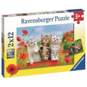 Ravensburger Παζλ 2x12 τμχ Γατάκια
