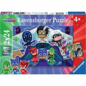 Ravensburger Παζλ 2x24 τμχ PJ Masks (07824)