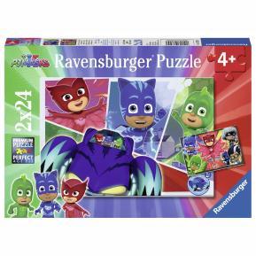 Ravensburger Παζλ 2x24 τμχ PJ Masks