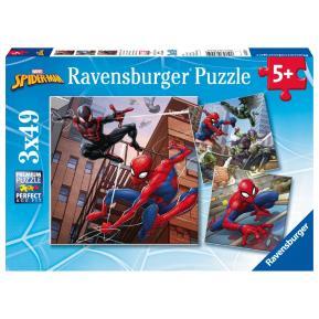 Ravensburger Παζλ  3x49 τμχ.  Spiderman 08025
