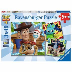 Ravensburger Παζλ Toy Story 4 3x49 τμχ. (08067)