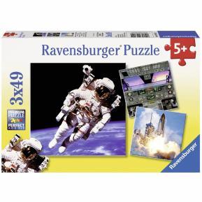 Ravensburger Παζλ 3x49 τμχ Αστροναύτες 09315