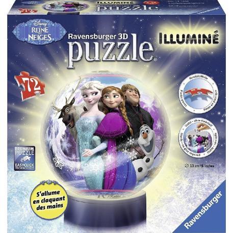 Ravensburger 3D Puzzle Μπαλαλάμπα Frozen-0