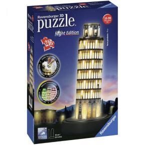Πάζλ 3D 216τμχ Πύργος της Πίζας Night Edition