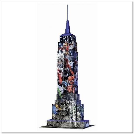 Ravensburger 3D Puzzle Empire State Building Avenger 216 τμχ-1