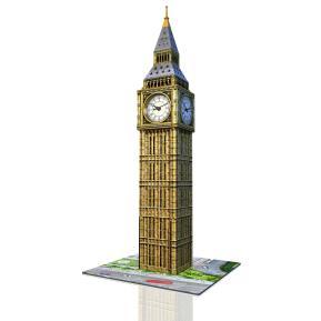 Ravensburger 3D Puzzle Big Ben Με Πραγματικό Ρολόι