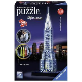 Ravensburger Παζλ 3D Chrysler Building Night Edition