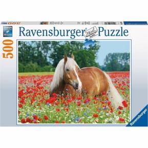 Ravensburger Puzzle 500 τμχ. Άλογο στο Λειβάδι 14831