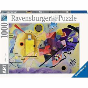 Ravensburger Παζλ 1000 τμχ. AC Kandinsky: Κίτρινο, Κόκκινο, Μπλε
