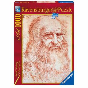 Ravensburger Puzzle 1000 τμχ Da Vinci: Αυτοπροσωπογραφία
