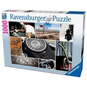Ravensburger Puzzle 1000 τμχ Μωσαικό Route 66