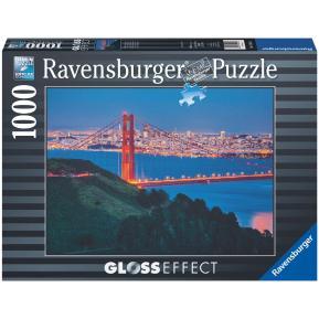 Ravensburger Puzzle 1000 τμχ Glossy: Η Θέα του Σαν Φρανσίσκο 19441