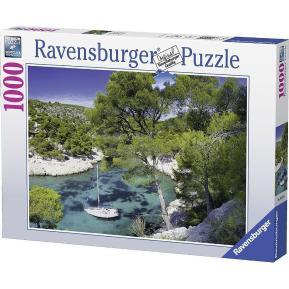 Ravensburger Puzzle 1000 τμχ Τα Γαλάζια Νερά του Κασί