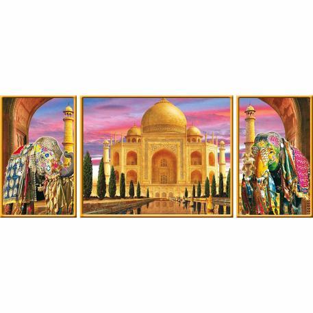 Ravensburger Τρίπτυχο Taj Mahal 1000τμχ-0
