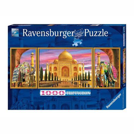 Ravensburger Τρίπτυχο Taj Mahal 1000τμχ-1