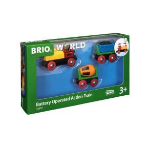 Brio World Τρένο Μπαταρίας με 2 Βαγόνια (33319)
