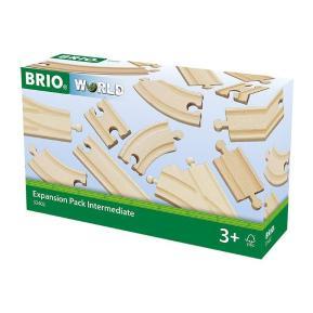 Brio World Σετ Επέκτασης Ράγες 16 τμχ. (33402)