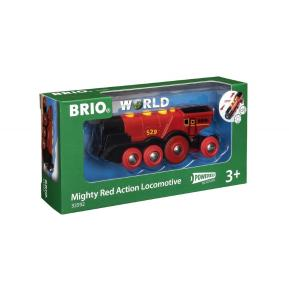 Brio World Μεγάλη Ατμομηχανή Μπαταρίας (33592)