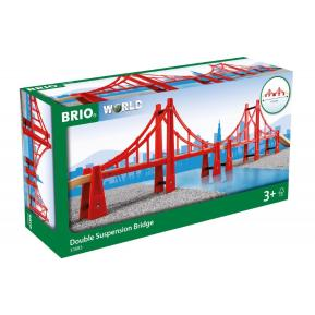 Brio World Γέφυρα Κρεμαστή Διπλή (33683)