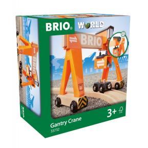 Brio World Γερανογέφυρα (33732)