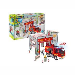 Revell Πυροσβεστικος Σταθμος & Πυροσβεστικο Φορτηγο 00852