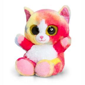 Λούτρινο Animotsu Rainbow Cat Dazzle 15cm